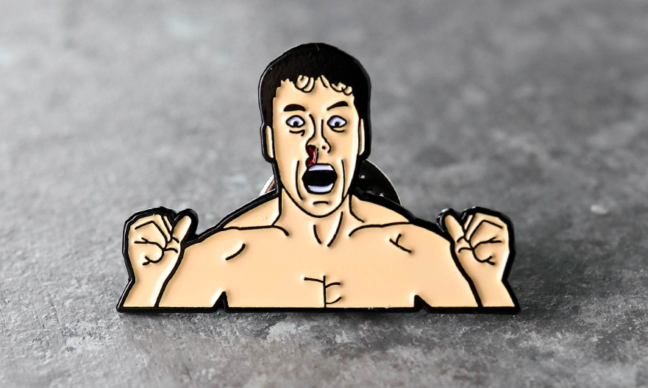 Bloodsport Enamel Pin